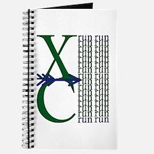 XC Run Dark Green Navy Journal