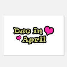 Due in April  Postcards (Package of 8)