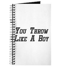 You Throw Like a Boy Journal