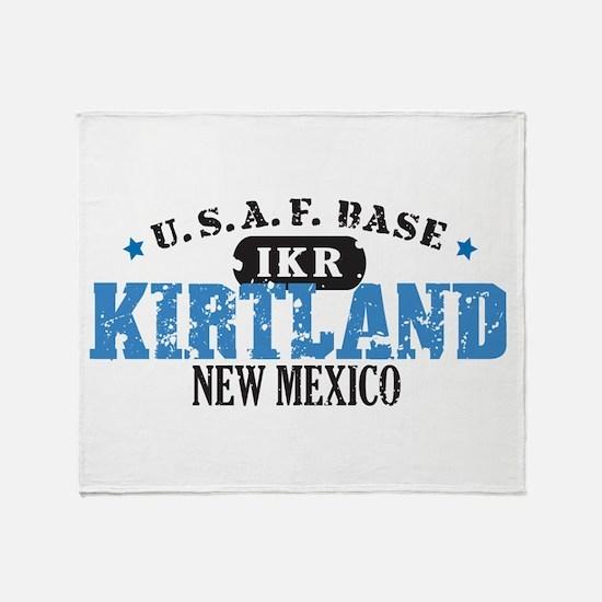 Kirtland Air Force Base Throw Blanket