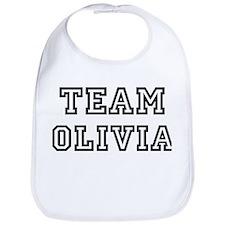 Team Olivia Bib