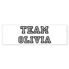 Team Olivia Bumper Bumper Sticker