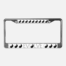 Evolve Balance License Plate Frame