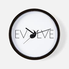Evolve Balance Wall Clock