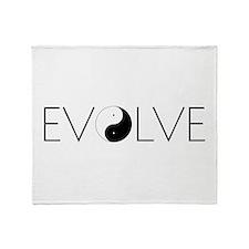 Evolve Balance Throw Blanket