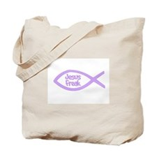 Jesus Freak Purple Tote Bag