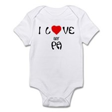 I Love My Pa Infant Creeper