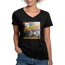 Women's V-Neck CSI T-Shirt