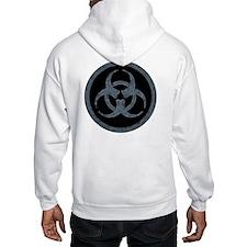 Gray Biohazard Hoodie