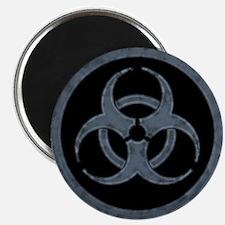 Gray Biohazard Magnet