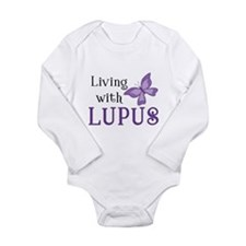 Living with Lupus Long Sleeve Infant Bodysuit