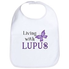 Living with Lupus Bib