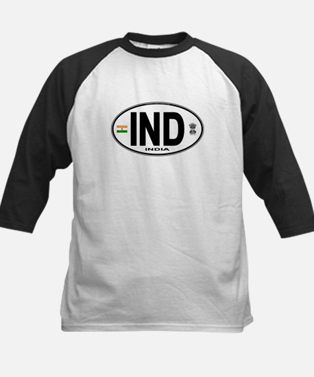 India Euro Oval (IND) Kids Baseball Jersey
