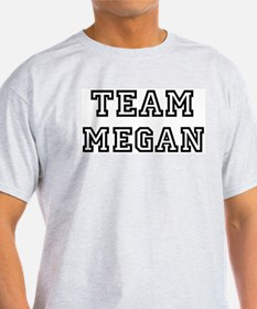 Team Megan Ash Grey T-Shirt
