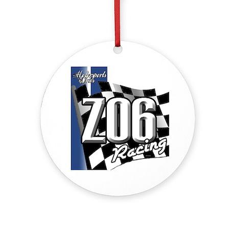 Corvette Z06 Ornament (Round)