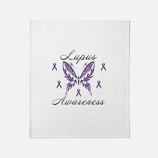 Lupus Awareness Throw Blanket