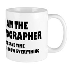 I am the Photographer Mug