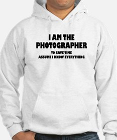 I am the Photographer Hoodie