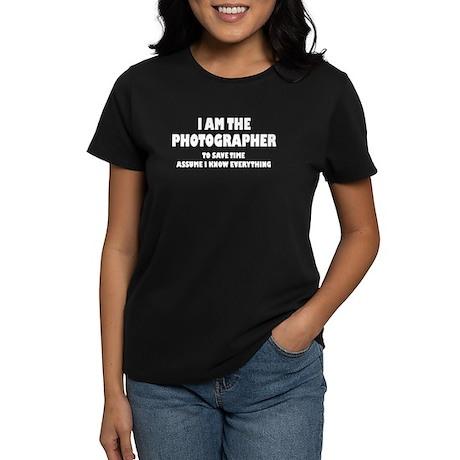 I am the Photographer Women's Dark T-Shirt