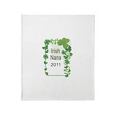 IRISH NANA 2011 Throw Blanket