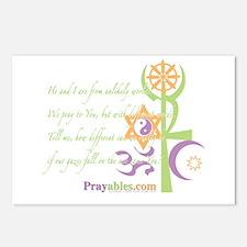 Multi-Faith: Postcards (Package of 8)