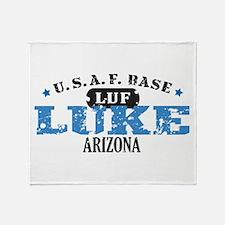 Luke Air Force Base Throw Blanket