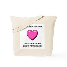 Labradoodle Cuter Tote Bag