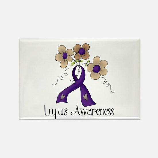 Lupus Awareness Rectangle Magnet