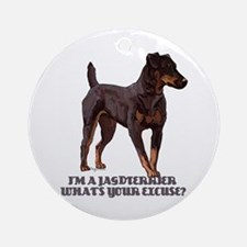 Jagdterrier Excuse Ornament (Round)