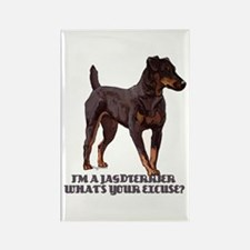 Jagdterrier Excuse Rectangle Magnet