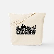 Calgary Skyline Tote Bag