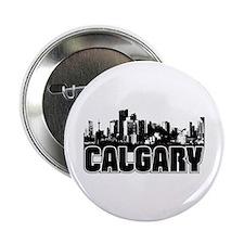 "Calgary Skyline 2.25"" Button"