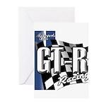 GTR Racing Greeting Cards (Pk of 20)