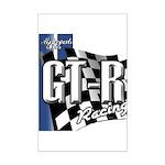 GTR Racing Mini Poster Print
