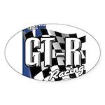 GTR Racing Sticker (Oval)