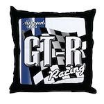 GTR Racing Throw Pillow