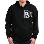 GTR Racing Zip Hoodie (dark)