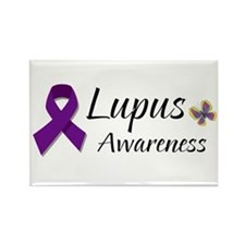 Lupus Awareness Rectangle Magnet
