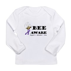 Bee Aware Long Sleeve Infant T-Shirt