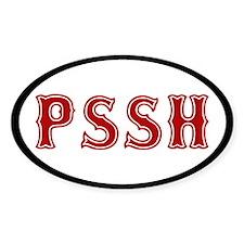 Pissah Decal