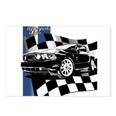 Mustang 2011 Postcards (Package of 8)