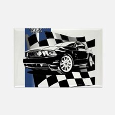 Mustang 2011 Rectangle Magnet