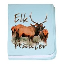 Elk Hunter baby blanket