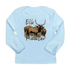 Elk Hunter Long Sleeve Infant T-Shirt