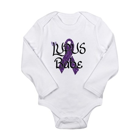 Lupus Babe Long Sleeve Infant Bodysuit