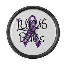 Lupus Babe Large Wall Clock