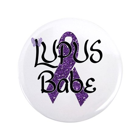 """Lupus Babe 3.5"""" Button (100 pack)"""