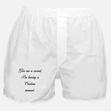 Cristina Moment Boxer Shorts