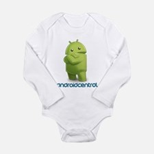 Android Central Long Sleeve Infant Bodysuit