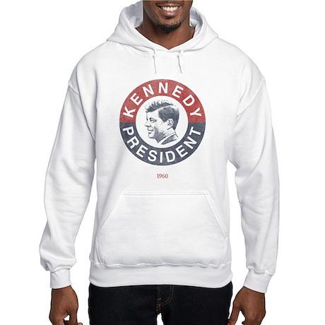 JFK for President Hooded Sweatshirt